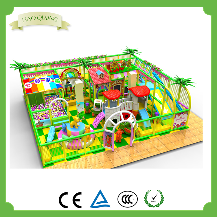 Jungle theme indoor children's toys , playground equipment for sale