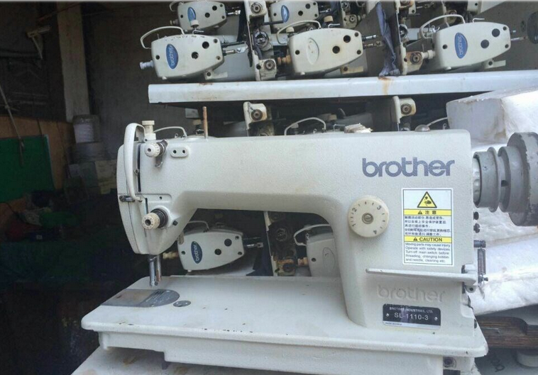 Used original good quality brother B-1110-3 lockstich sewing machine prices