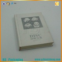hot sales index hardcover cardboard books printing in China