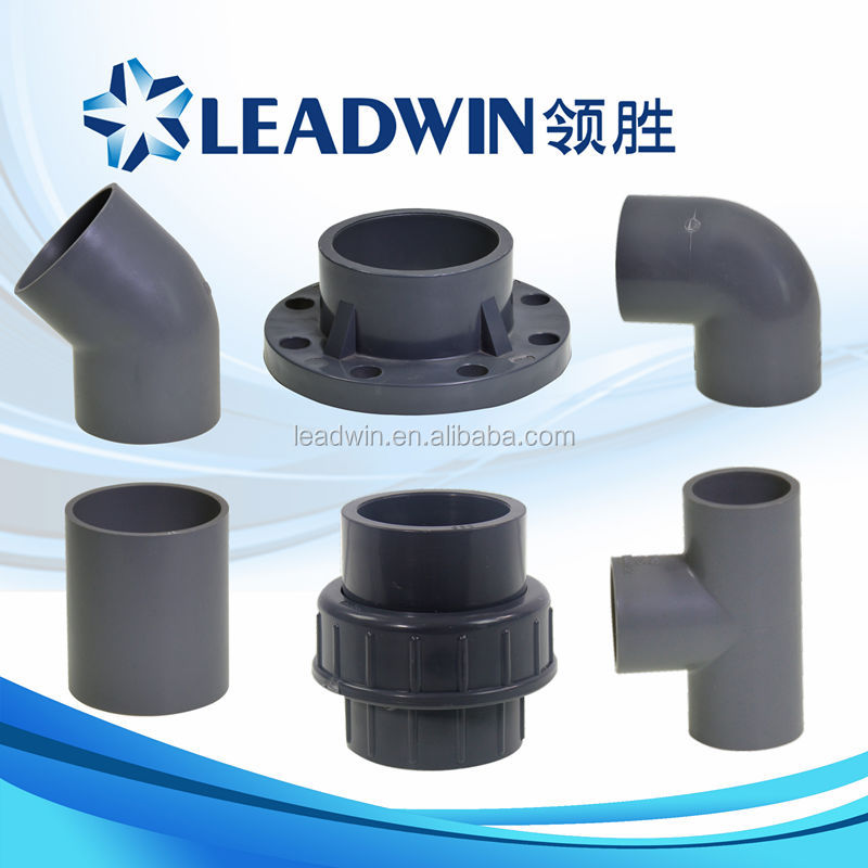High quality plastic pipe fittings