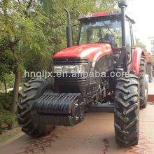 Henan famous qln1304 4wd 130hp farm tractor snow plow