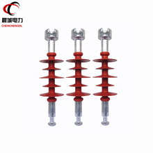 Long rod composite suspension insulator for high voltage transmission power line