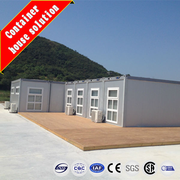 Comfortable style prefabricated mobile home