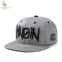 Custom Design Your Own 3d embroidery logo Flat Brim high quality 6 Panel mens Hat Cap Snapback Cap Hat