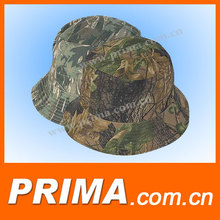 Fashion custom plain cheap printed pattern bucket hat with string wholesale