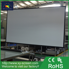 XYSCREEN 210 inch front and rear projection fast fold projector screen