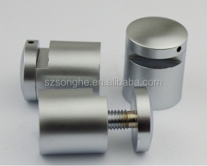 Round Stainless Steel Standoff for Glass
