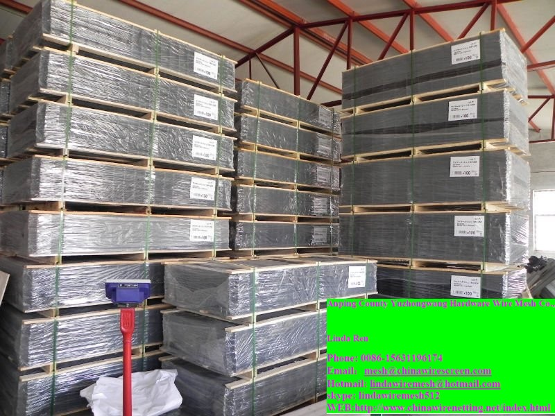 GI welded wire mesh panel