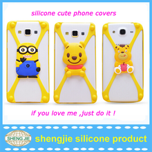 2015 hot creative mobile phone case high quality silicone universal Cell phone case