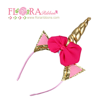 Kids Baby Unicorn Horn Cosplay animal Party Headband for kids