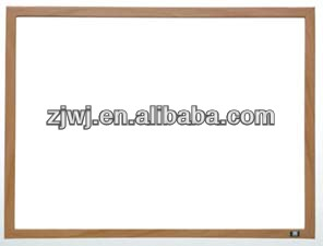 GBB-002 120*90cm wall mounted magnetic Wooden Frame Magnetic marker boards magnetic board gridded whiteboard