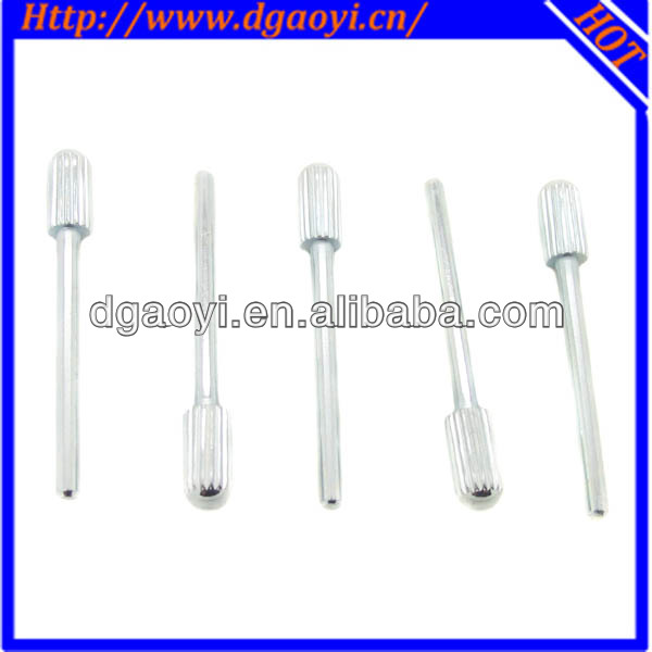 Baking hot dip galvanized knurled head pins