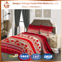 100% Polyester Bed Comforter Sets On Sale Queen Bedding Set