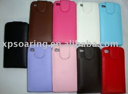 smooth PU case pouch bag cover for iphone 4 4G