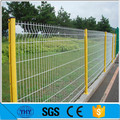 corrugated pvc wire mesh fence