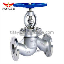Gost Single Way Manual Operated Flange double seated Globe Valve
