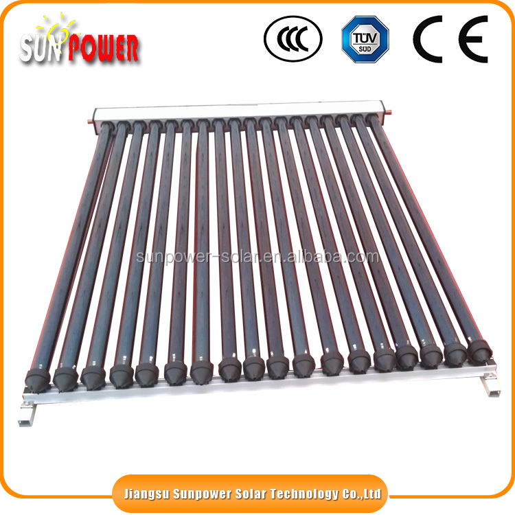 Alibaba export hot sell evacuated tube solar collector wholesale