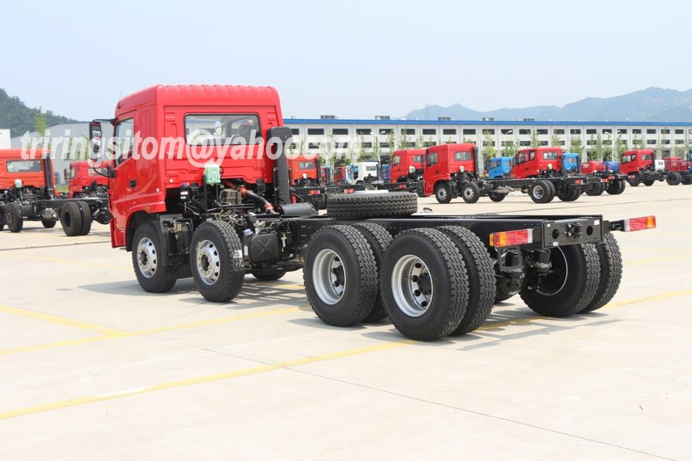 Cummins 260hp Sitom 25T 30T 8x4 12 wheels dump truck