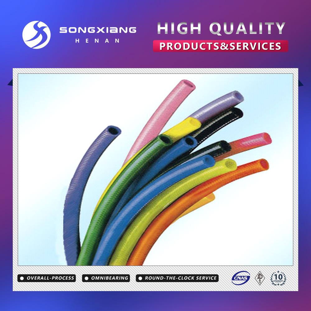 High pressure clear pvc fiber reinforced plastic hose pipe
