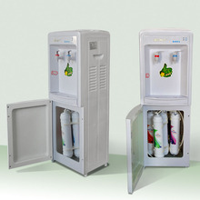 Standing drinking water filter/hot and cold water purifier