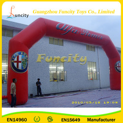 Custom 0.6mm Thickness PVC Tarpaulin Cheap Inflatable Arch, Inflatable Entrance Arch, Inflatable Archway for Sale