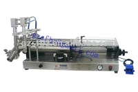 double nozzles cream filling machine