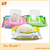hand and face cleaning wet tissue paper, Single Sachet Wet Tissue Paper