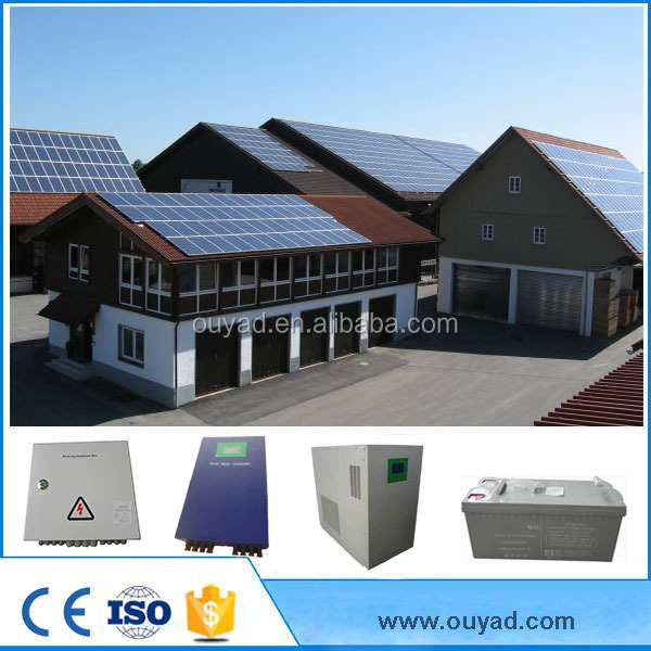 15kw Solar power System Standard Silicon Modules PV power system