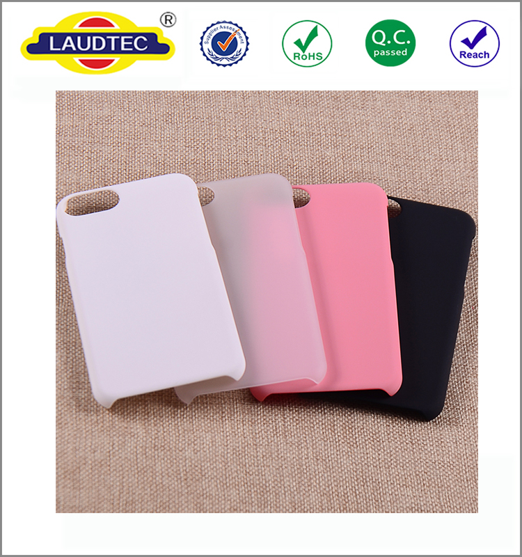 100% Fit Rubberized PC Hard Back Cover Case For Iphone 7