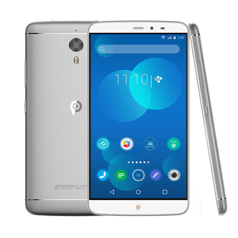 Original PPTV KING 7/7s Helio <strong>X10</strong> Octa Core Smartphone 6.0 inch 2.5D IPS 2K Screen 3GB+32GB 4G Music Moive Mobile <strong>phone</strong>