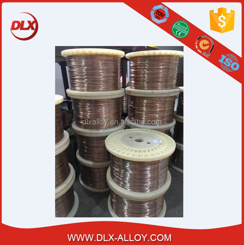 Low Resistance Nickel Copper Manganese Wire Manganin wire 6J12