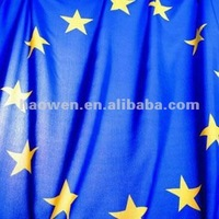 100 polyester printed pongee flag fabric