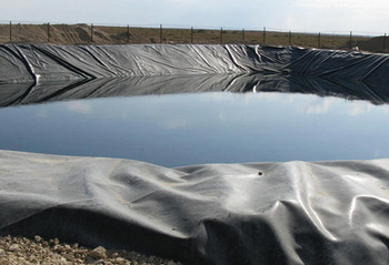 Pond Hdpe Geomembrane Liner Waterproofing Material For