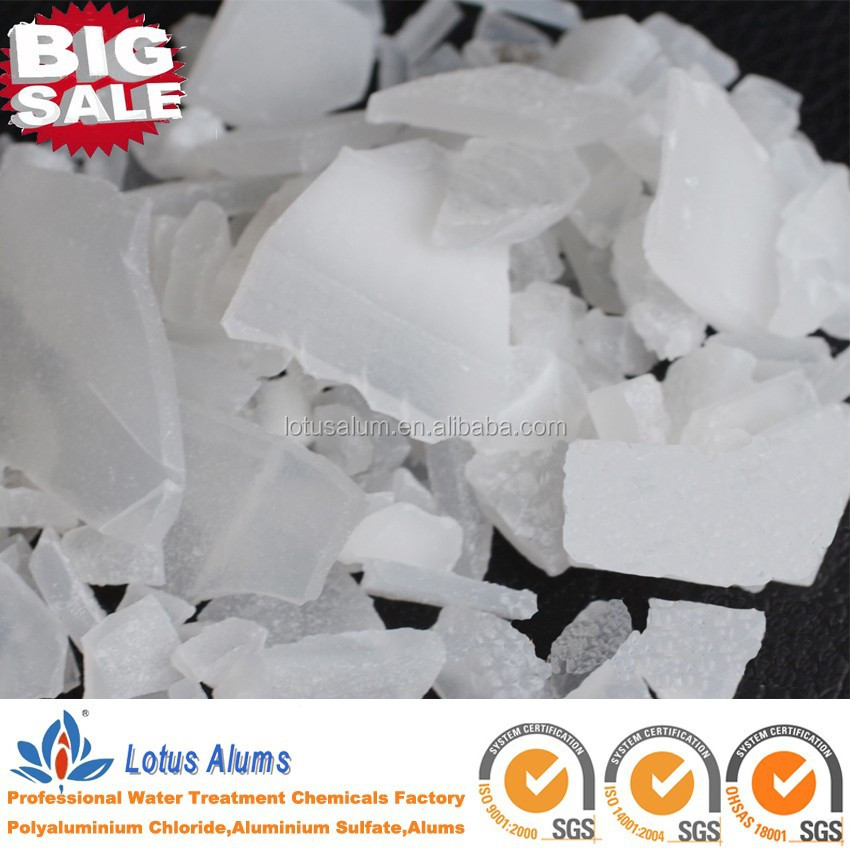 (White flake )aluminium sulfate best price in China/Hot sales