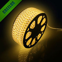 Factory Newest 110V 220V Waterproof flexible SMD5050 rgb Led Strip 50m 100m roll