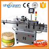 Durable efficient easy operation round aerosol can labeling machine