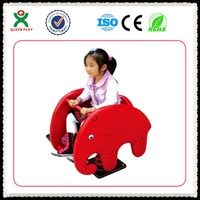 Children elephant spring rocking rider ride on spring toys rocking horse toy QX-153A