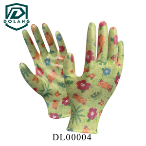 2016 new design Palm Fit Cut Resistant Work Glove with PU Coated