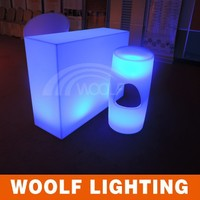 modern design led illuminated outdoor furniture