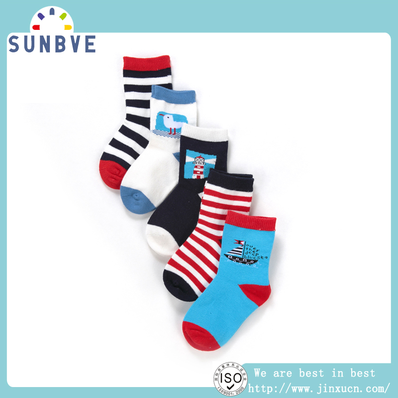 design gift nylon cute infant print baby warmer socks
