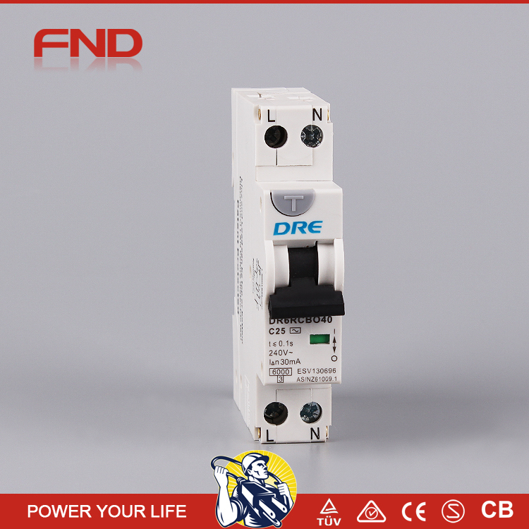 NEW hyundai circuit breaker RCBO residual current circuit breaker