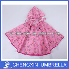 top quality clear AC child rain poncho