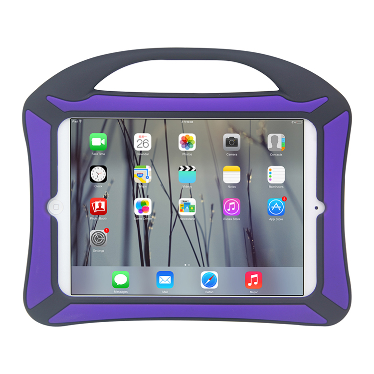 Kids Children Protective Shockproof Silicone Tablet Case For iPad Air/Air2