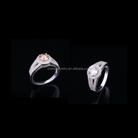 new fashion antique sterling silver ring