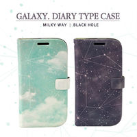 Galaxy_Happymori Design Flip Phone Cover Case for Apple iPhone 6 (Made in Korea)