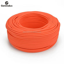 Light Orange PVC Stranded Sold Electric Wire Price Round Copper Flexible Electric Wire