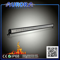 waterproof and tough AURORA 50inch LED light,led light bars for trucks
