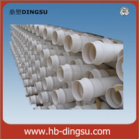 Colorful 3 Inch Water Supply Drainage pvc pipe manufacturing machinery Underground PVC Pipe