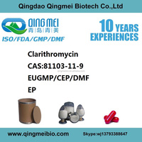 10years supplier CAS 81103-11-9 low price clarithromycin from China