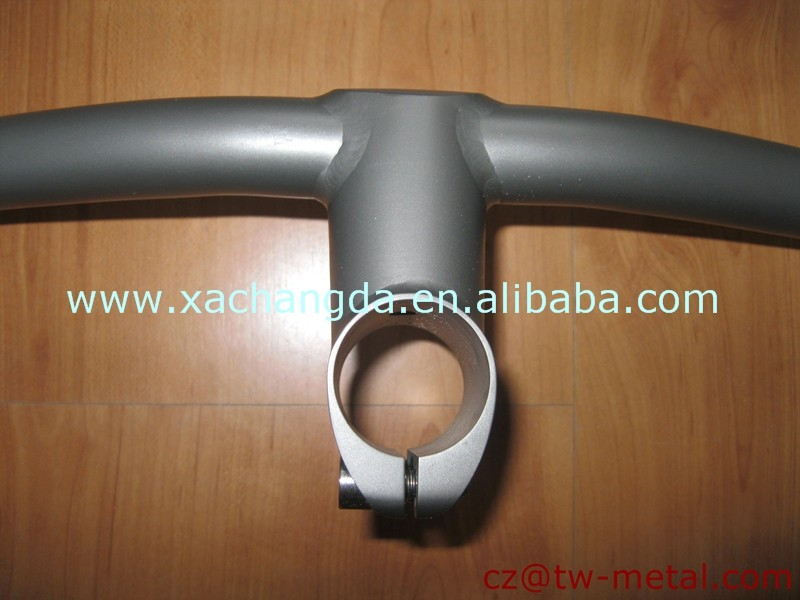 OEM customized titanium bicycle handlebar ti bike handle bar & handle stem